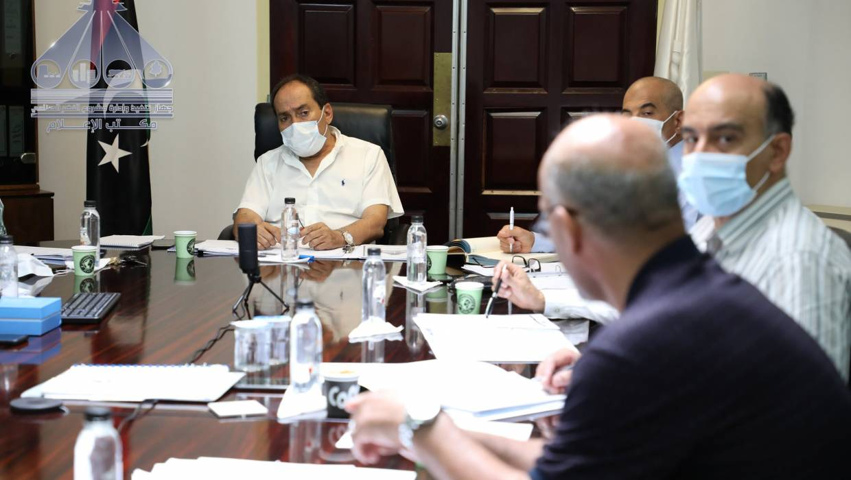 اجتماع اللجنة الإدارية بالجهاز