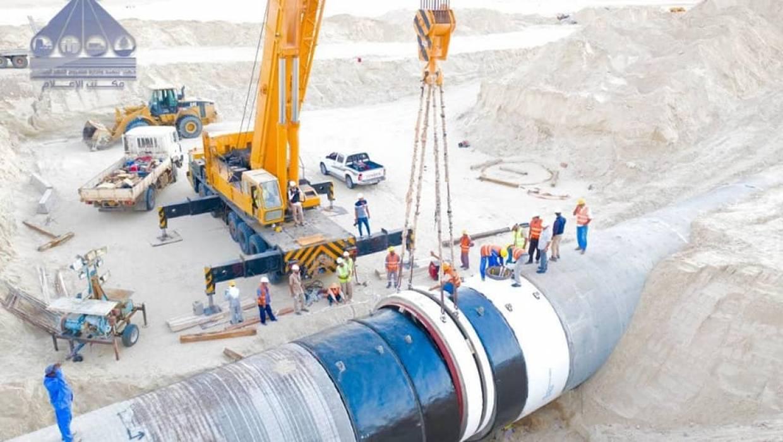 اعمال الإصلاحات للمحطة 211 الواقعة على المسار تازربو  - بنغازي